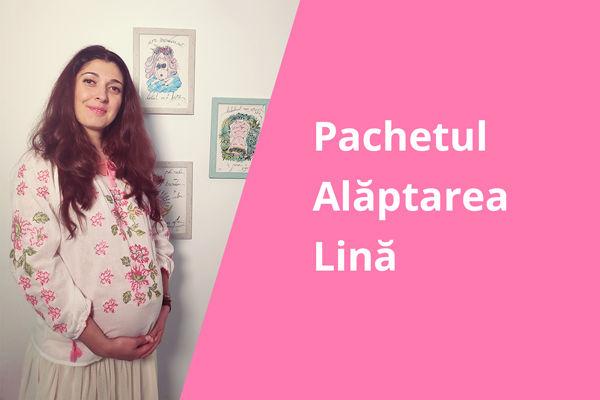 Pachetul Alaptarea Lina ora magica suzete biberoane atasare la san